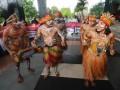 Aksi anti-korupsi di Kota Jayapua