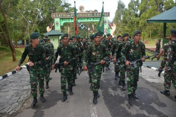 Kasdam Cenderawasih pimpin upacara HUT Infanteri di Papua