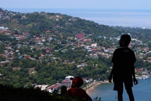 Panorama Kota Jayapura Papua