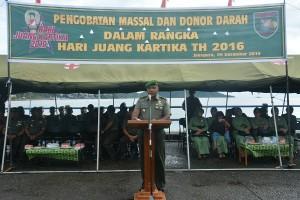 Kodam Cenderawasih gelar pengobatan massal terkait Hari Juang Kartika 2016