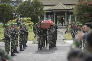 Hercules TNI AU jatuh di Papua