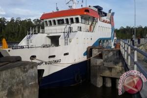 Pelayaran perdana KMP Kokonao rute Paumako-Agats