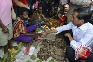 Catatan Akhir Tahun - Janji Jokowi pada Mama-mama Papua telah terwujud