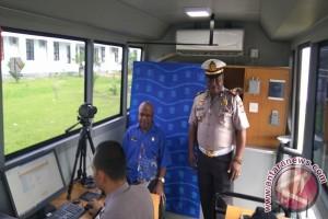 Satlantas Polres Mimika layani perpanjangan SIM ASN