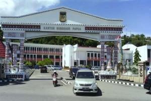 KPK geledah kantor Gubernur Papua