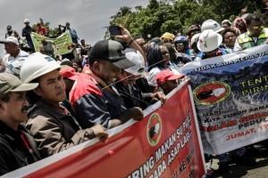 Demo Karyawan Freeport