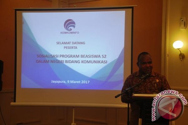Kemkominfo sosialisasikan beasiswa S2 bagi ASN Papua