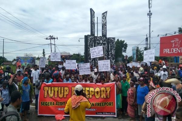 Masyarakat Adat Independen tuntut Freeport segera ditutup