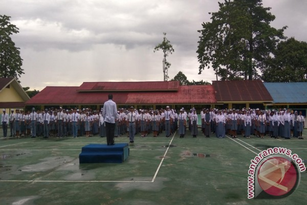 Ribuan pelajar SMA-SMK Mimika ikut USBN