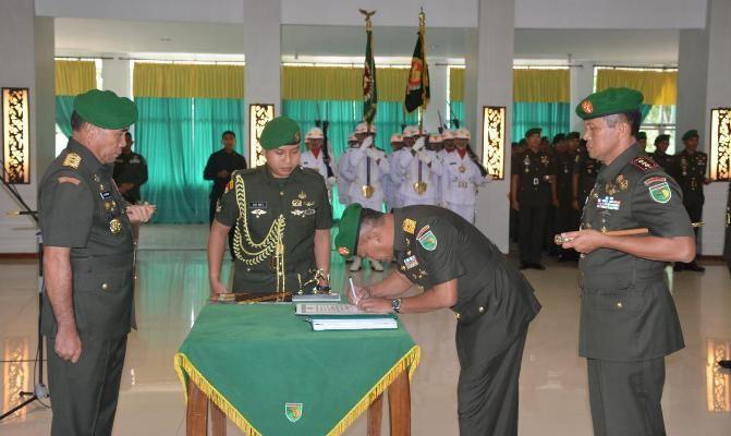 Kolonel Inf I Nyoman Cantiasa jabat Danrem 173/PVB