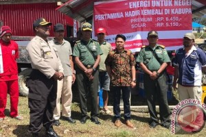 Pertamina bangun 10 SPBU Kompak di Papua
