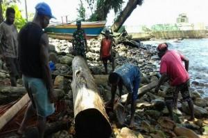 Danramil Depapre ajak nelayan bercocok tanam saat gelombang tinggi