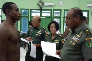 50 pemuda pedalaman Papua masuk pendidikan Tamtama TNI AD