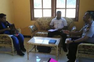 Perwakilan Komnas HAM Papua kunjungi Mapolsek Depapre