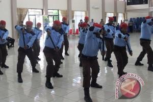 Pegawai Kanwil Kemenkumham Papua dibekali kemampuan bela diri