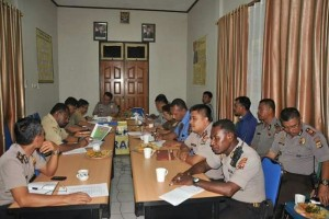 Kapolres Merauke pimpin pembentukan Tim Saber Pungli