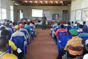 Danramil Waropko hadiri Musrenbang tingkat distrik