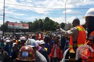 360 personel gabungan amankan demo peduli Freeport