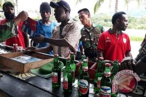 TNI sita atribut Bintang Kejora di perbatasan RI-PNG