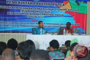 Gubernur Papua minta OPD menindaklanjuti hasil Musrenbang Otsus 2017