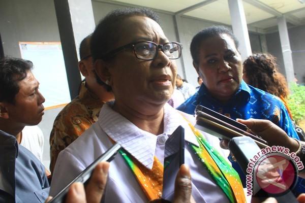 Menteri PPPA tinjau workshop Waena Expo