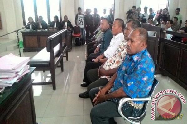 19 Kadistrik Kabupaten Jayapura divonis tiga bulan penjara
