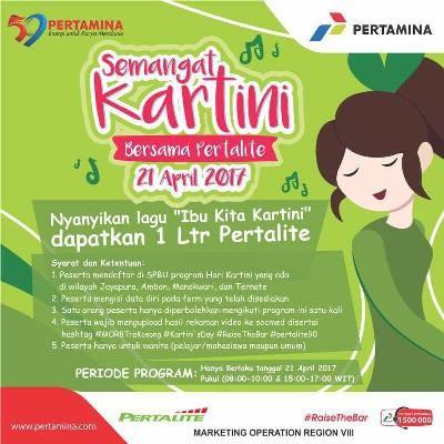 Pertamina akan bagi pertalite gratis di Hari Kartini