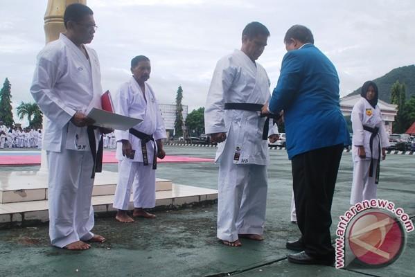112 Karateka Papua lulus ujian kenaikan sabuk