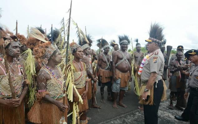 Irjen Waterpauw berkunjung ke Mappi