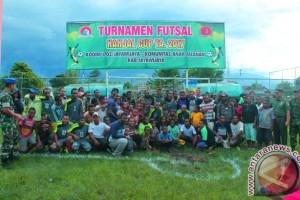 Kodim 1702/Jayawijaya gelar turnamen futsal anak jalanan