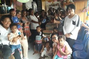 Wartawan Jayapura berbagi kasih di Panti Asuhan Air Mata Mama