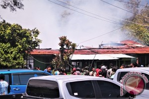 Tujuh rumah prajurit Kodim 1702/Jayawijaya terbakar