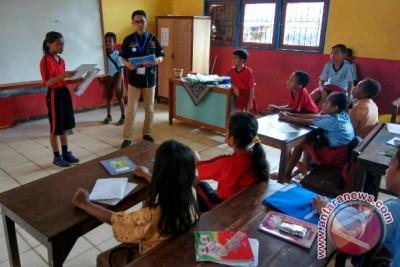 Pertamina mengajar di SD Inpres Dok 9 Jayapura