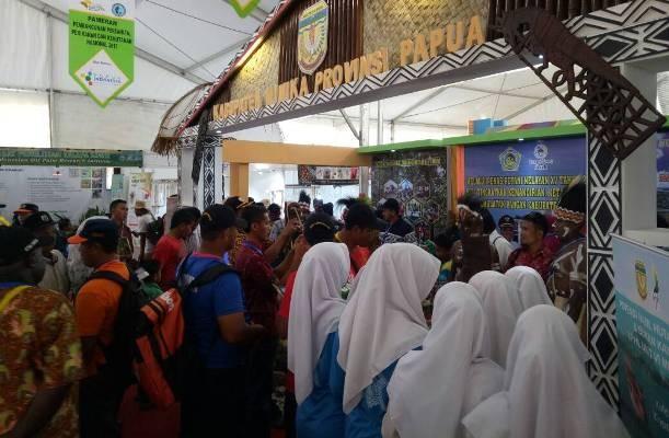 Stan Mimika di Penas KTNA Aceh ramai pengunjung
