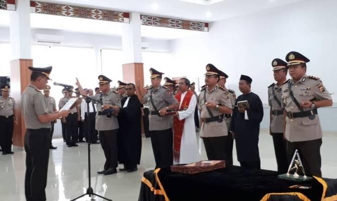 Kapolda Papua pimpin sertijab empat kapolres