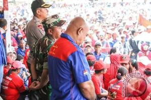"""TNI-Polri apresiasi aksi """"May Day"""" 2017 di Timika"""
