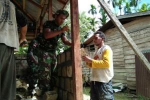 Yonmek 516/CY bantu warga Keerom bangun musala