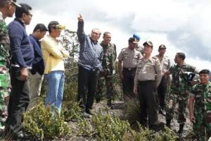 Wakasad dan Kapolda Papua tinjau lokasi yang hendak dikunjungi Jokowi