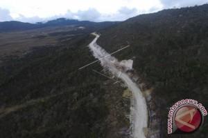 Jalan perbatasan Indonesia-PNG terus dilanjutkan