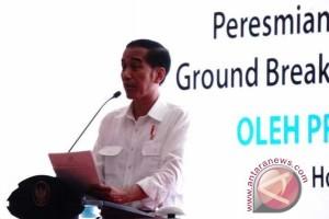 Presiden resmikan empat proyek kelistrikan Papua Maluku