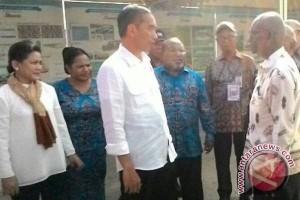Presiden Jokowi berkunjung ke tapal batas RI-PNG