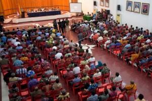 Pertemuan pembahasan masalah keamanan di Kota Jayapura