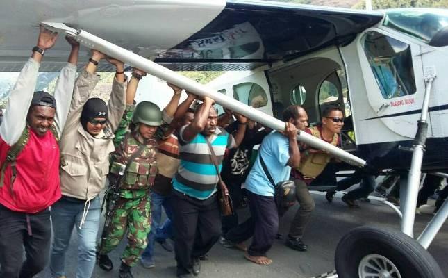 Pesawat Susi Air ditembak KKB di Puncak Jaya