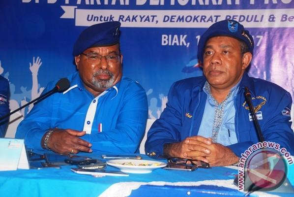 Demokrat tidak buka pendaftaran calon Gubernur Papua