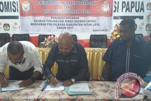 Intan Jaya alokasikan Rp12,5 miliar untuk KPU terkait PSU di tujuh TPS