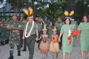 Pangdam George Supit kunjungan kerja perdana ke Timika