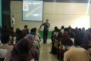Dandim Jayapura beri materi bela negara kepada pelajar SMAN 4