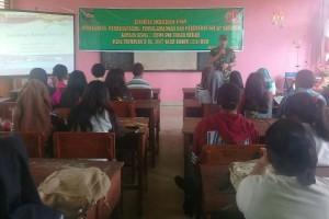 Kodim Boven Digoel gelar penyuluhan narkoba di SMAN 1 Tanah Merah