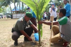 Kodim Merauke dukung pemkab sukseskan penanaman satu juta pohon