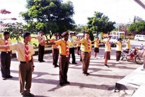 Polres Jayawijaya tingkatkan pengetahuan pelajar SMA Wamena